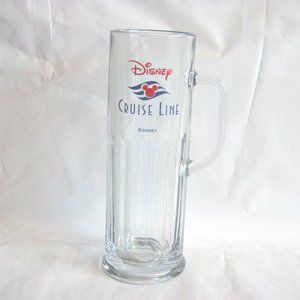 DISNEY CRUISE LINE MICKEY MOUSE EARS TALL GLASS